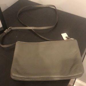 Coach grey crossbody bag